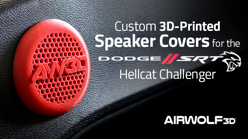 3D-Printed Speaker Covers