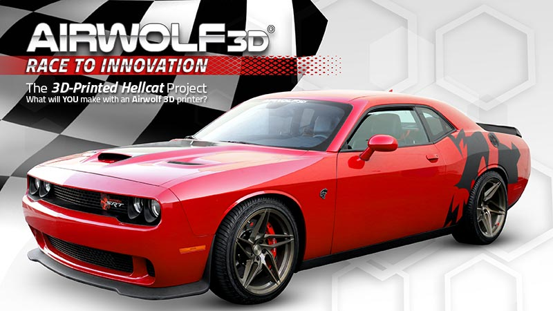 The 3D-Printed Hellcat Project