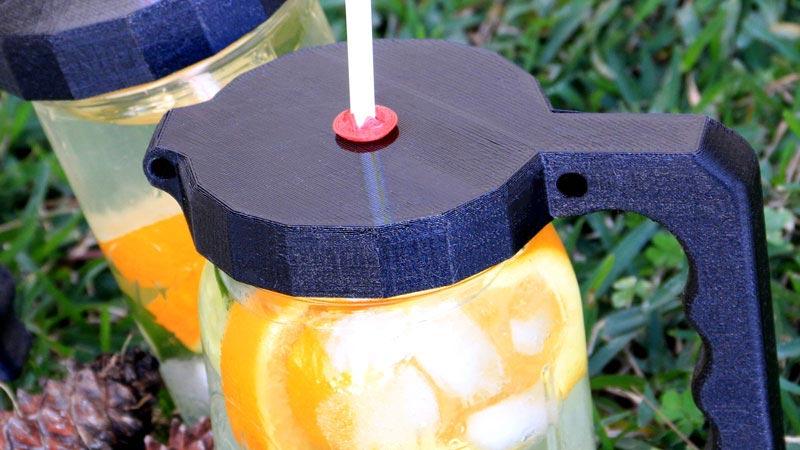 3D-Printed Jar Lid