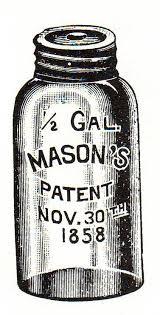 Mason Jar Drawing