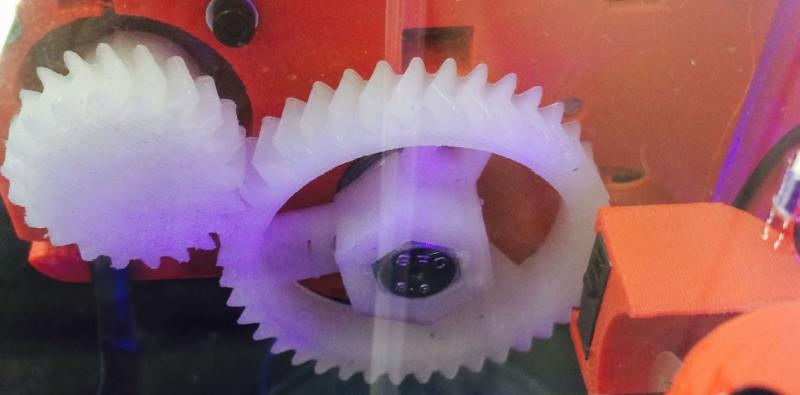 3D-Printed Nylon Gears