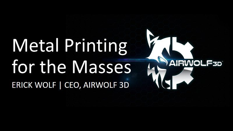 Metal Printing for the Masses