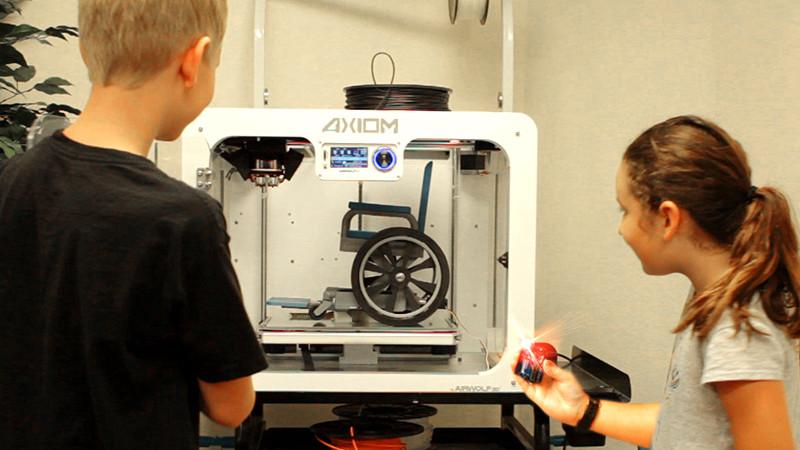 Perkins Grant 3D Printers