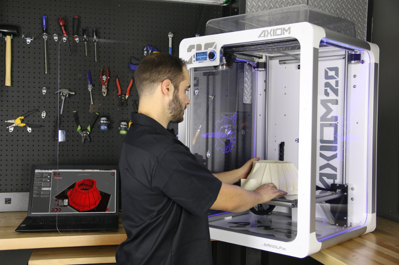 Large Volume 3D Printer AXIOM 20