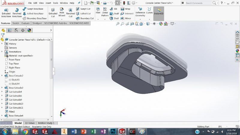 Student SolidWorks Design