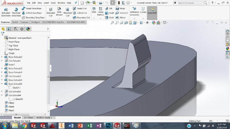 Design Tab Car Solidworks