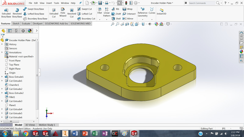 Design Encoder Holder