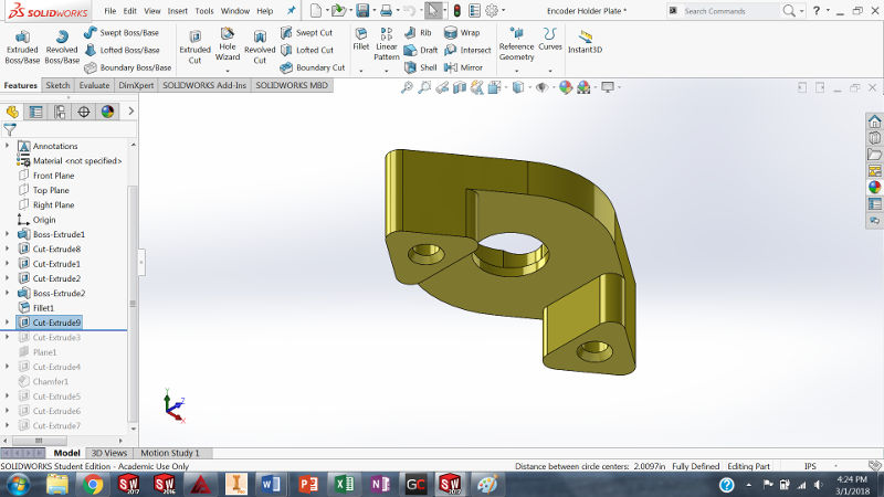CAD Design for High School Robotics