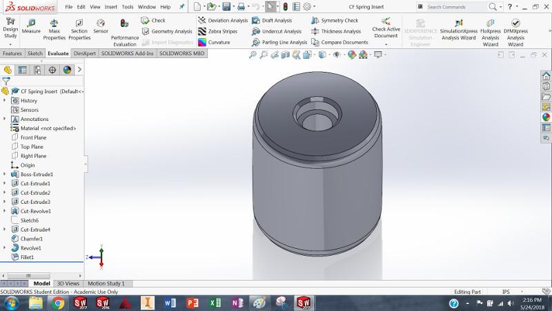3D Printed Spring Hubs