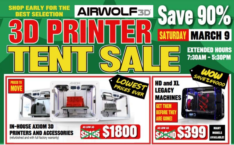 used 3d printer tent sale southern california