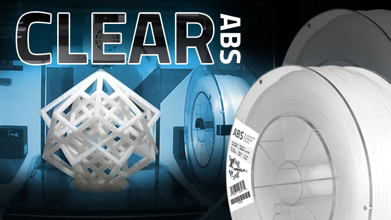Clear-ABS filament