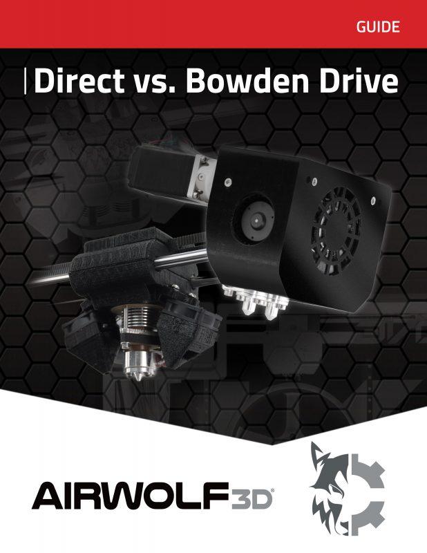 White paper Direct vs Bowden Extruder 3D Printer