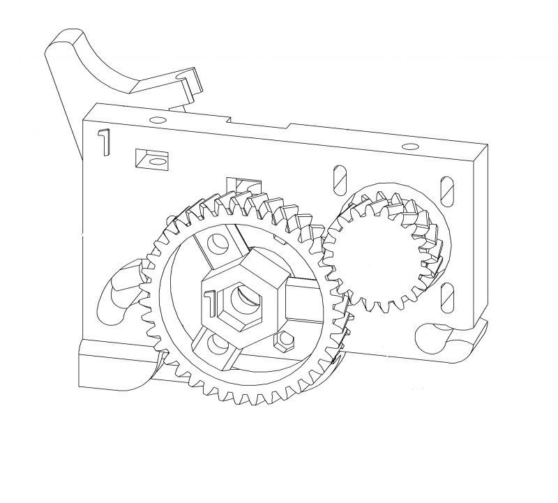 extruder bowden vs direct drive illustration