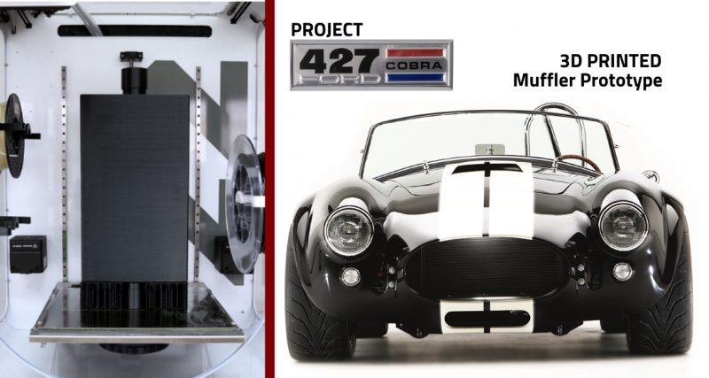 3D PRINTED MUFFLER PROTOTYPE COBRA