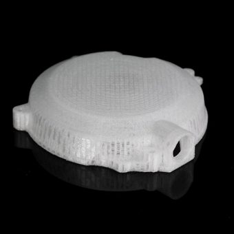 Polycarbonate Part with Clean Support