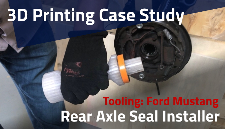 3d printing tooling Axle Seal Installer