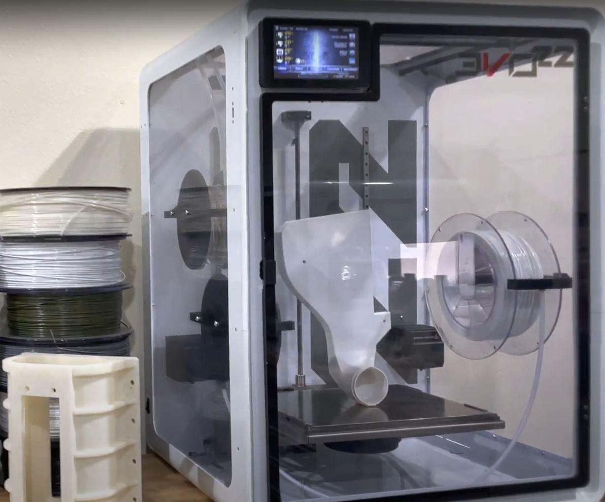 EVO 22 3D Printing Race Car Parts