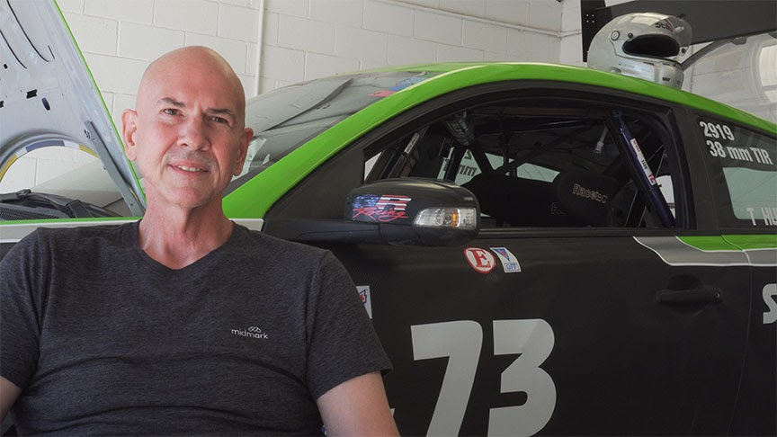 Tim Hunter Car Racer and Engineer Professional