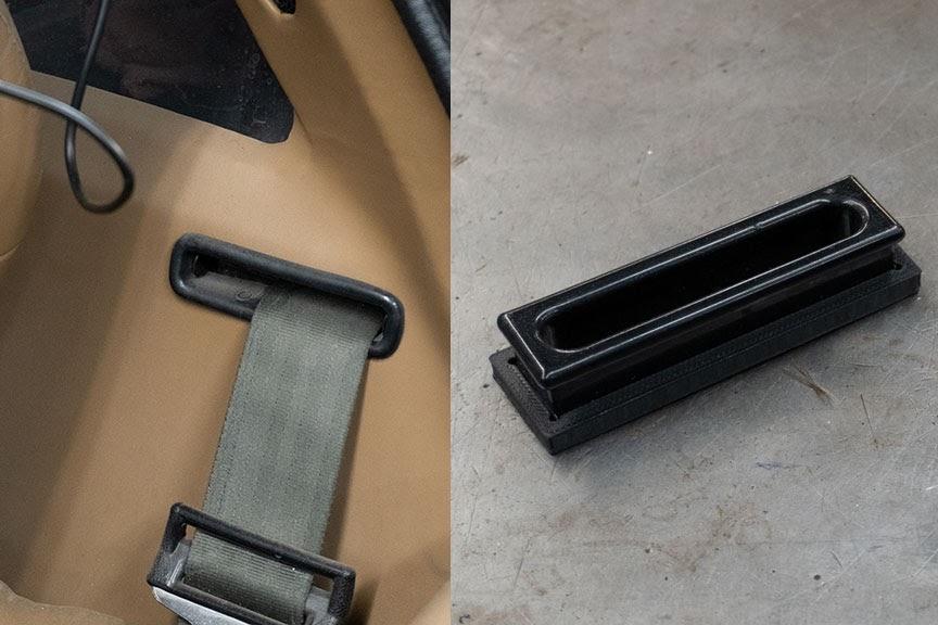 3d printed lotus seatbelt clips